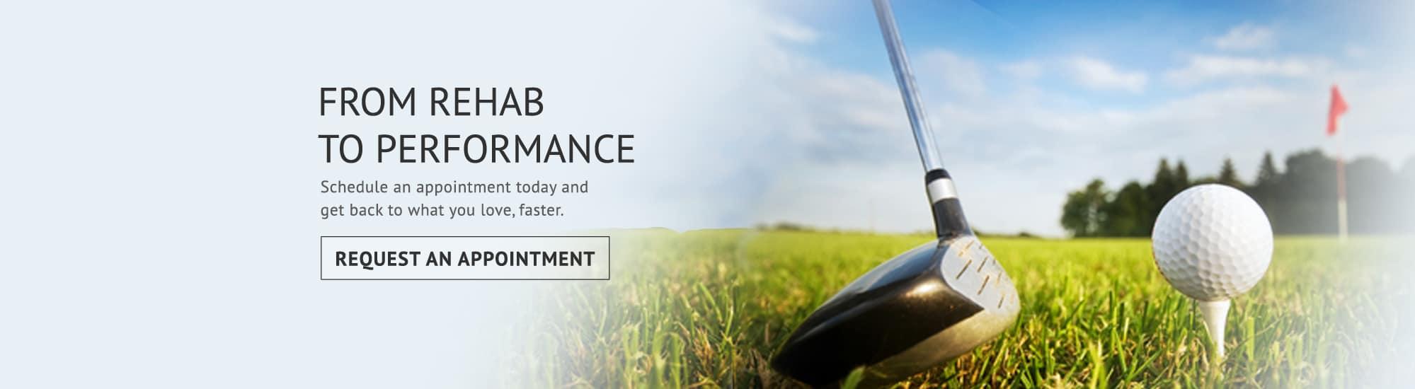 rehab performance slide